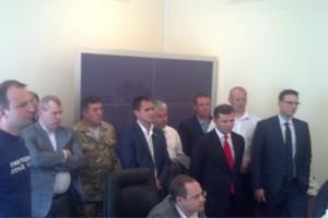 Мельничука везут в суд для избрания меры пресечения