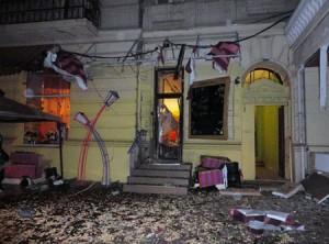 В Одессе снова взорван ресторан