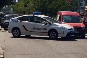 ДТП с полицейскими в Киеве