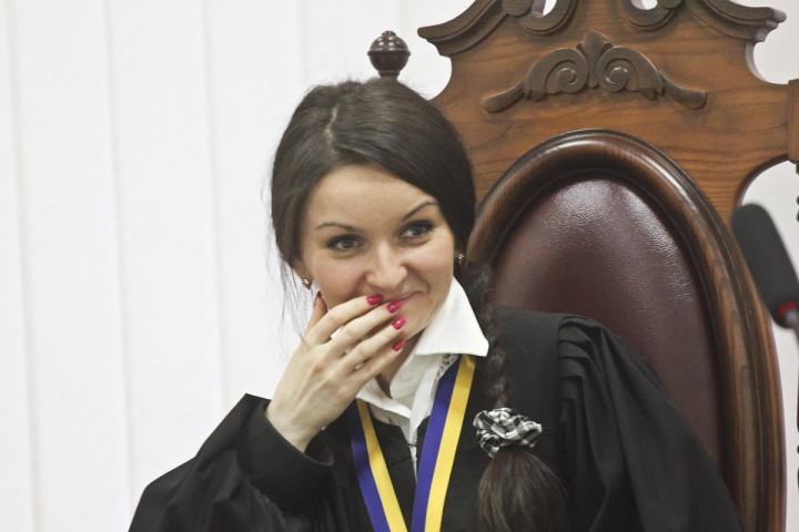 Оксана Царевич судья