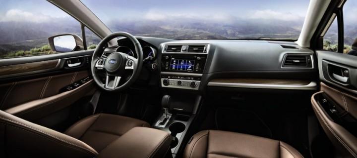 Салон Subaru Outback Touring