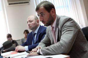 Председатель Госфинмониторинга Игорь Черкасский провел встречу с представителем Международного валютного фонда