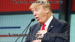 Как вдутый Геращенко лже-республиканцу Трампу импичментом угрожал