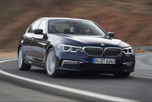 В Киеве презентовали новую модель BMW 5 G30